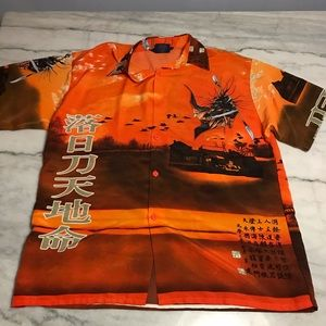 Amazing Ice By DYKY Button Up Size Large